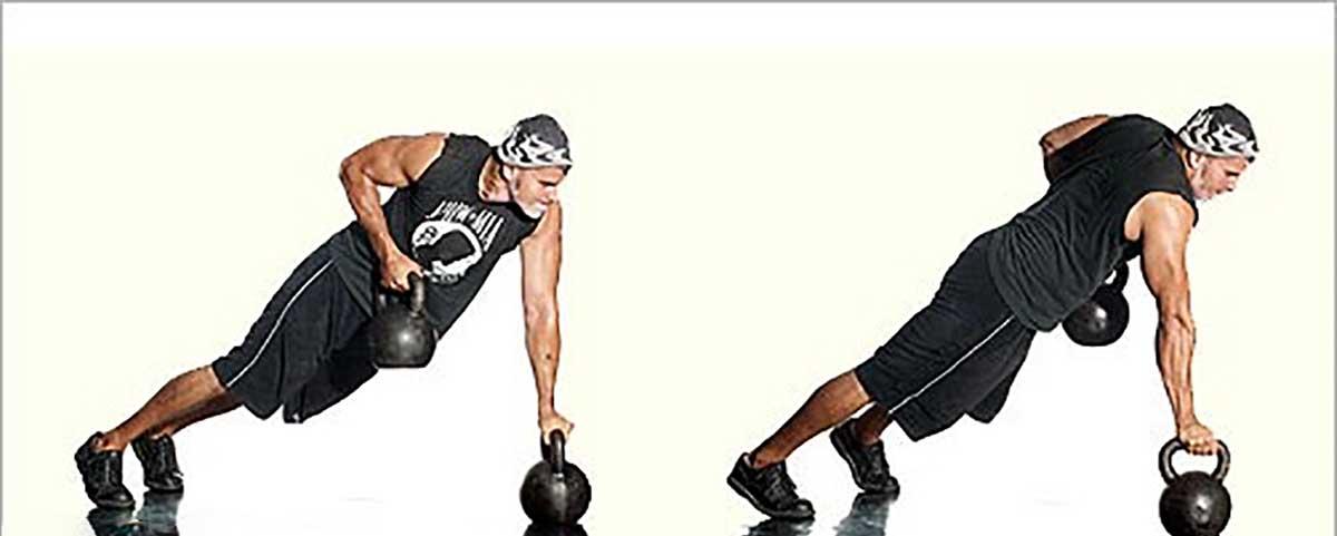 فواید تمرینات ورزشی با کتل بل - روش تمرین - تنوع دلچسب در تمرینات