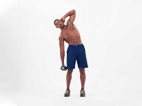 حرکت خم شدن با وزنه به طرفین Weighted Side Bendings - پادکست