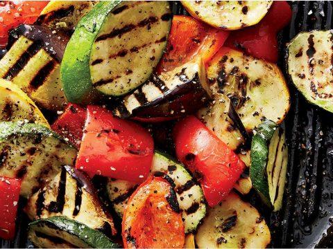 سبزیجات گریل شده - آشپزخانه فیتنسی - تغذیه ورزشی