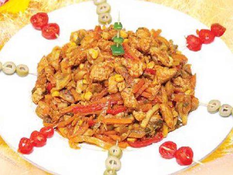 طرز تهیه خوراک فصلی - آشپزخانه فیتنس - تغذیه ورزشی و رِژیم غذایی