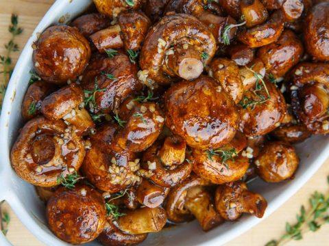 طرز تهیه قارچ کاراملی - آشپزخانه فیتنسی