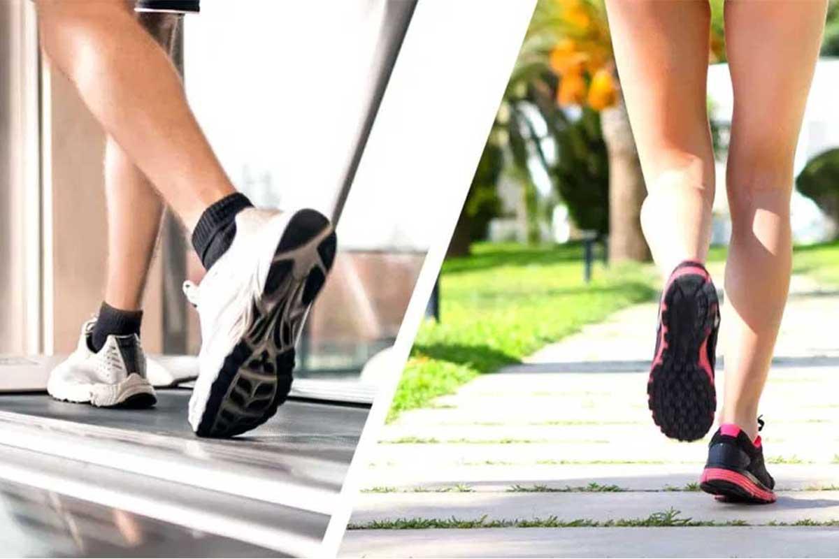مقایسه دویدن بر روی زمین و دویدن بر روی تردمیل - کتابخانه حرکات