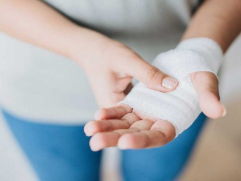 دلیل درد در کف دست - آسیب شناسی