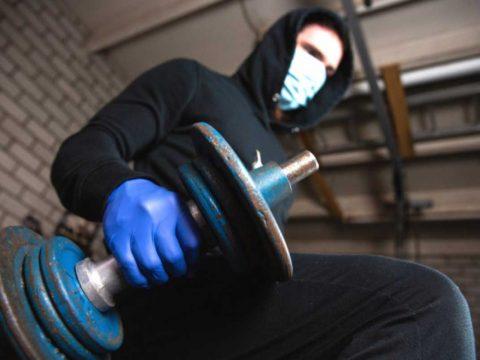 کرونا و ماسک در تمرین - ورزش درمانی
